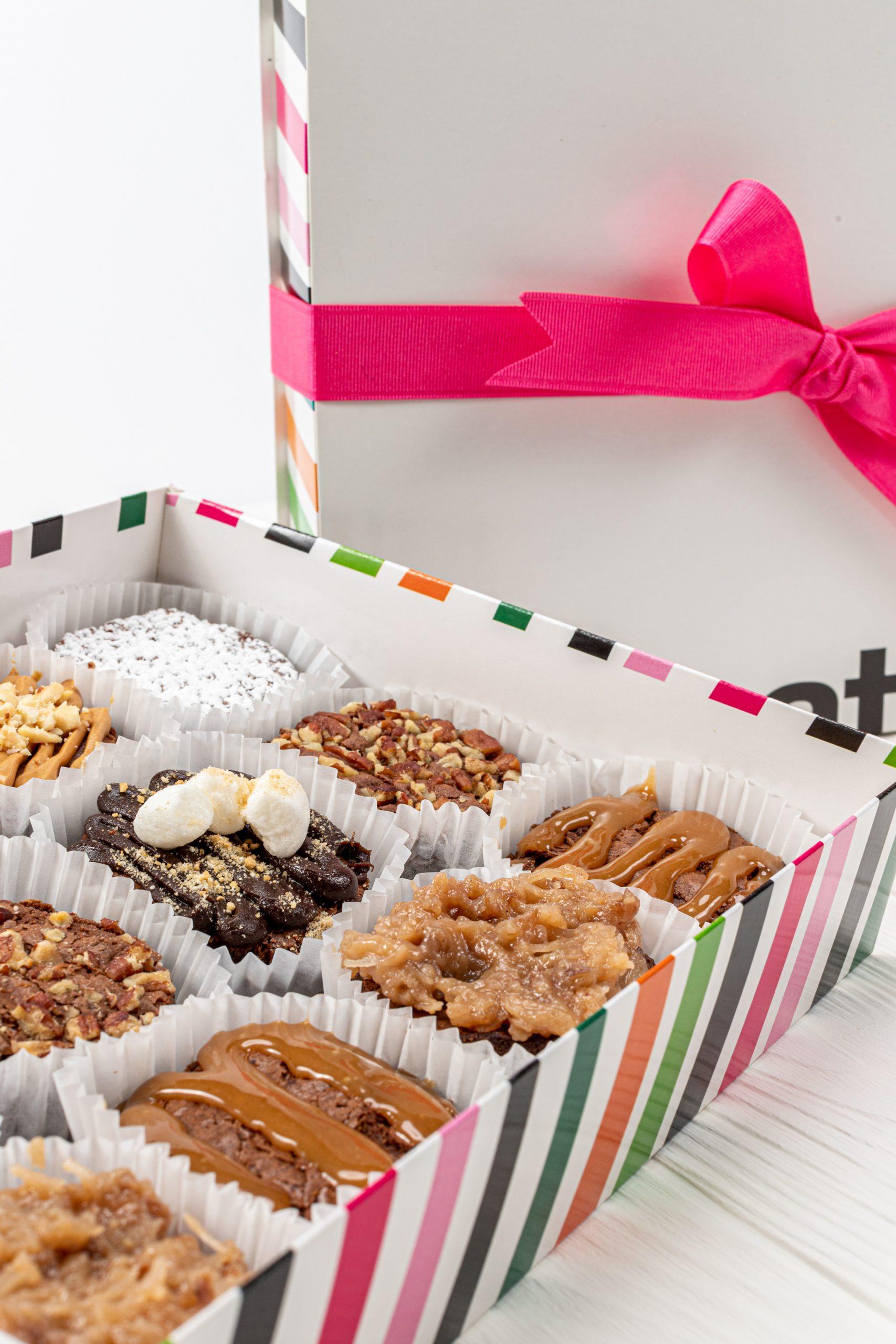 No. 1002 Caja de 12 Brownies